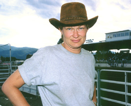 Beate at the Rodeo